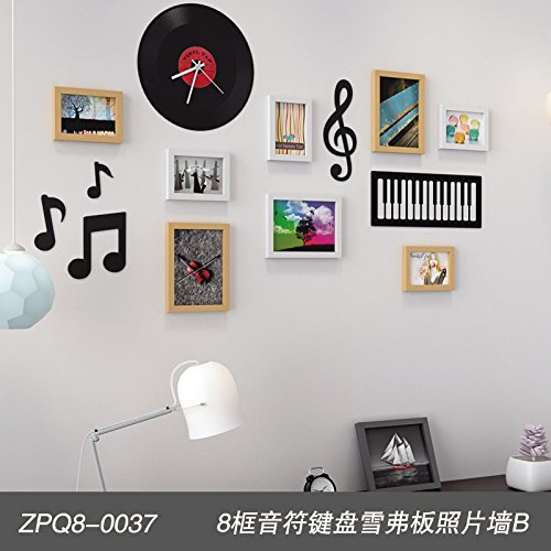 Unbekannt Graz Design Ensemble de décorations murales pour Salon, Chambre à Coucher, Salle de séjour, Chambre à Coucher, Tableau de Bord, Clavier à 8 Touches