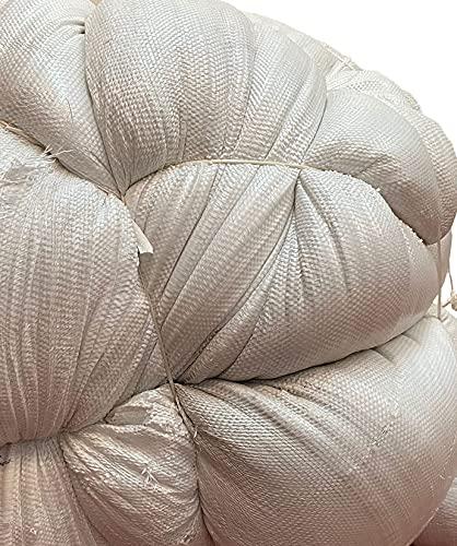 Bolsa de Relleno Algodón Sintético de 01kg - Fibra Hueca Siliconada - Totalmente Cardada - Sin Olor, 100% Poliéster - Hipoalergénica, Antiestática y Antibacteriana