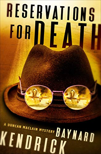 Reservations for Death (The Duncan Maclain Mysteries Book 9) by [Baynard Kendrick]