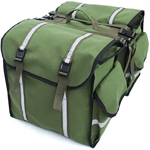 Fahrradtasche Gepäckträger, Doppel Satteltasche Fahrradtasche Gepäckträger, Hinterradtasche Mit Mehrere Tasche, Gepäckträgertasche Für Fahrrad