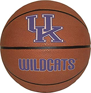 8 Inch Basketball UK University of Kentucky Wildcats Logo Removable Wall Decal Sticker Art NCAA Home Room Decor 8 by 8 Inches