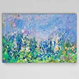 WEXFORD HOME Claude Monet 'Lavender Fields Gallery Wrapped Canvas Wall Art, 24x36, Multicolor