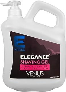 Elegance Venus Transparent Shaving Gel 67.62 Oz