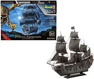 Revell 05699 Piratfartyg Disney Caribbean Black Pearl (License Restricted, sjöpirates of The Carribean), flerfärgad