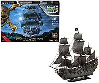 Revell 05699 Black Pearl Model Kit, 1:72 Scale, 50 cm, Multi-Color
