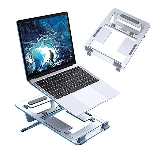 Recliner Soporte para Portátil Ventilado Altura Ajustable Compatible con 11 '' -17 '' Tabletas MacBook iPad Soporte para Computadora Portátil De Escritorio Plegable por Oficina Hogar