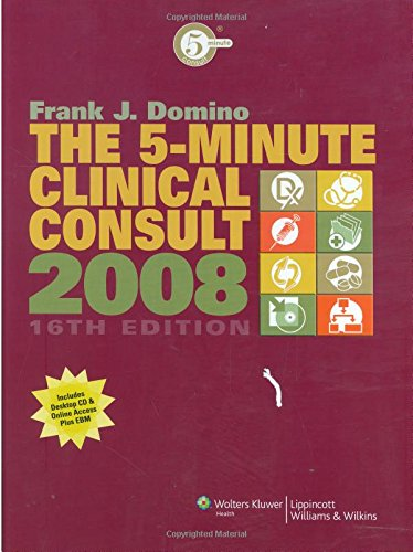 The 5-Minute Clinical Consult 2008 (GRIFFITH'S 5 MINUTE CLINICAL CONSULT)