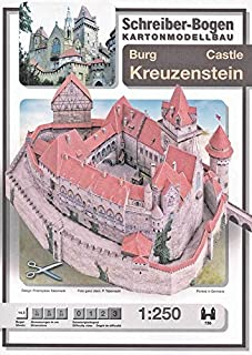 Aue Verlag 44 x 29 x 24 cm Kit de Modelo Castillo de