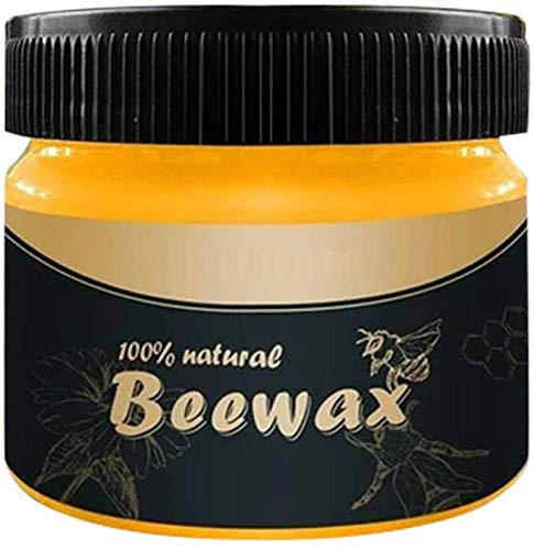 Biaoyun Wood Seasoning Beewax - Traditional Beeswax Polish for Wood & Furniture, All-Purpose Beewax for Wood Cleaner and Polish Wipes - Non Toxic for Furniture to Beautify & Protect, No Build-Up