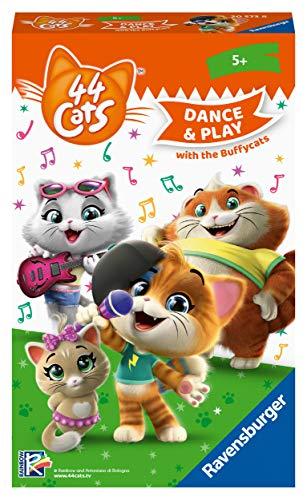 Preisvergleich Produktbild Ravensburger Mitbringspiele 20573 - 44 Cats: Sing and Dance with the Buffycats ein Such- und Bewegungsspiel für Fans ab 5 Jahren
