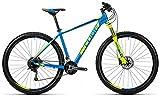 Cube Analog 29R twentyniner Mountain Bike 2016, blue´n´kiwi