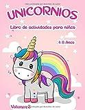Libro de actividades de unicornios:: para niños de 4 a 8 años - Volumen 2