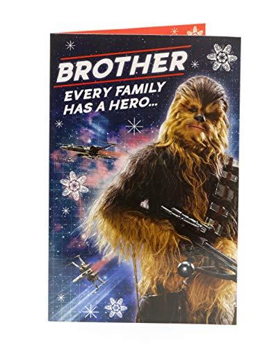 Star Wars Weihnachtskarte für Bruder, Chewbacca