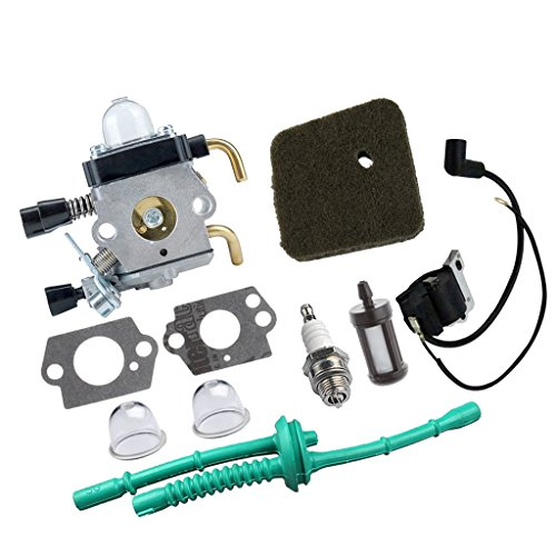 Bobina de Encendido Kit Carburador Herramientas de Jardinería Partes de Repuesto