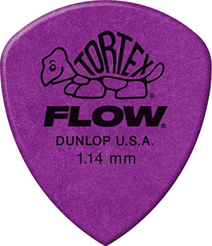 Jim Dunlop - Tortex Flow Standard Confezione da 12 1.14 mm Purple
