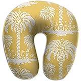 Hao-shop Jellyfish Palm Island Almohada Tipo U con Estampado