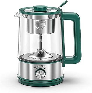 KELITE 600W Bouilloire électrique cafetière Noire Bouilloire électrique Tape de Vapeur Théière Automatique -Type Tea Pot (...