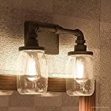farmhouse mirror lights