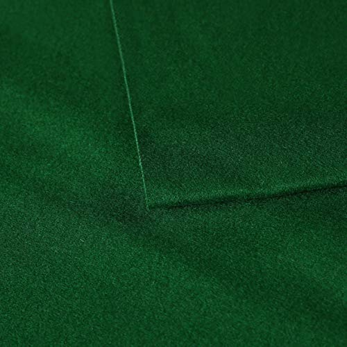 Find Discount MetaBall Billiard Cloth Pool Table Felt for Size 6, 7 or 8 Foot, Color Snooker Green