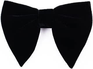 Velvet Bow Tie Mens Pre-Tied Satin Formal Tuxedo Big Bowtie