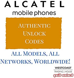 Alcatel Factory Unlock Codes (Original)