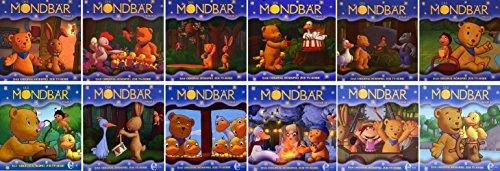 Der Mondbär - Original Hörspiel zur TV-Serie - Folge 1-12 im Set - Deutsche Originalware [12 CDs]