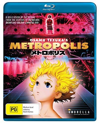 Metropolis   2001 Anime   Anime   NON USA Format   Region B Import - Australia