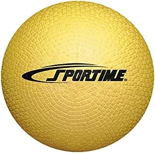 School Smart Playground Ball - 7 inch - Yellow - 1293608