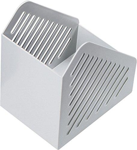 Helit h6361082 Portariviste, formato A5, colore: grigio chiaro