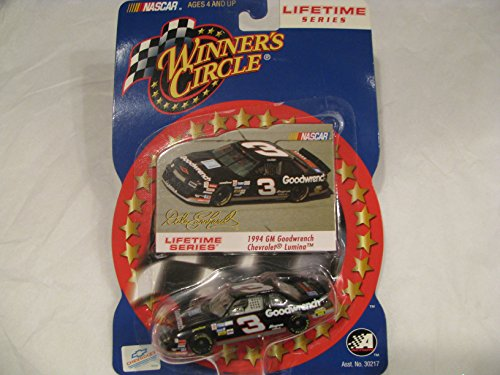 NASCAR Dale's Last Championship Season 1994 Dale Earnhardt Sr #3 GM Goodwrench Lumina 1/64 Scale Diecast Car Winners Circle Lifetime Series Edition
