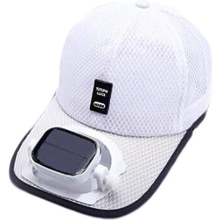Beige Camping Unisexe Randonn/ée Casquette de Baseball Fan Casquette de Baseball Refroidissement USB Capuchon de Ventilateur de Charge FBGood Chapeau avec Ventilateur