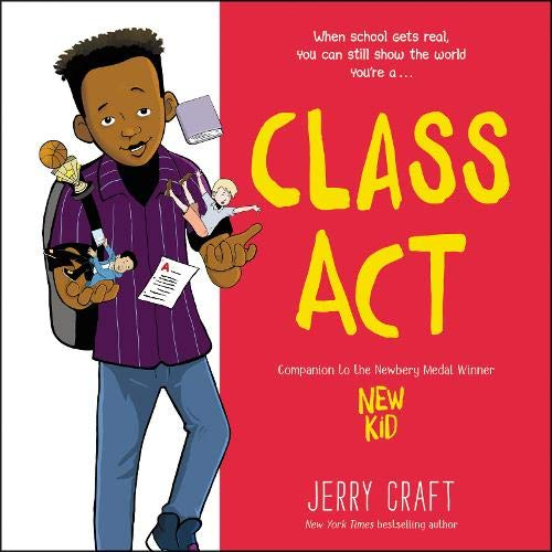 Class Act Audiobook By Jerry Craft cover art