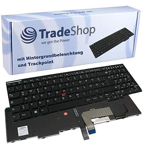 Preisvergleich Produktbild Original Laptop-Tastatur / Notebook Keyboard mit Hintergrundbeleuchtung und Trackpoint Deutsch QWERTZ für Lenovo Thinkpad Edge Serie E440 E531 E550 E550C E555 L550 T531 T540 T540P T550 W540 W541