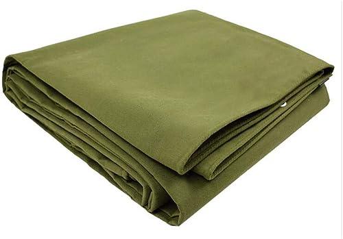 Yuke Couvertures imperméables de bache Lourde 500g   m2 pour la Feuille de Terre de Bateau d'auvent de Camping d'auvent résistant aux intempéries (Taille   5x6m)