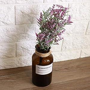 Oumefar Realistic Durable Artificial Gladiolus Fake Flower for Lobby for Wedding
