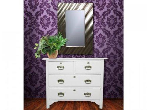 Aniba Design Design Spiegel modern-3, Silber ABSP0006