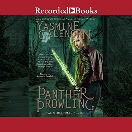 Panther Prowling audiobook cover art