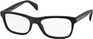 PR19PV Eyeglasses-1BO/1O1 Matte Black-53mm