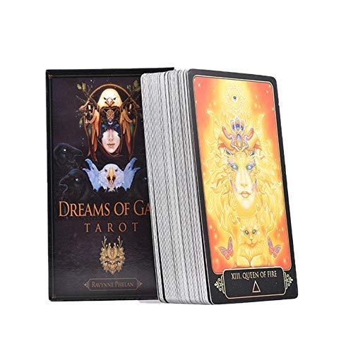 Navigatee Tarotkarten 81 Gaia Tarot Dream Spiel Karten Brettspiel Karten