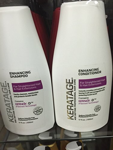 Keratage Enhancing Shampoo & Conditioner (17 oz)