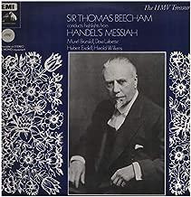 Messiah Highlights - Georg Friedrich Handel, Sir Thomas Beecham, BBC Symphony Chorus, Dora Labbette, Muriel Brunskill, Hubert Eisdell, Harold Williams LP
