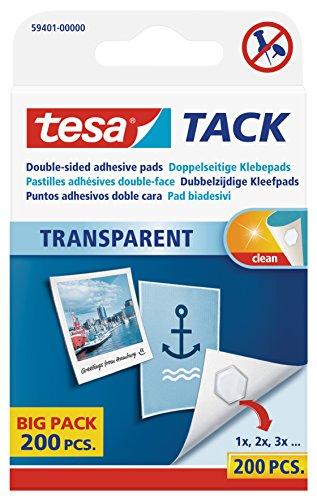 tesa Tack 200 Pastilles adhésives Double-face