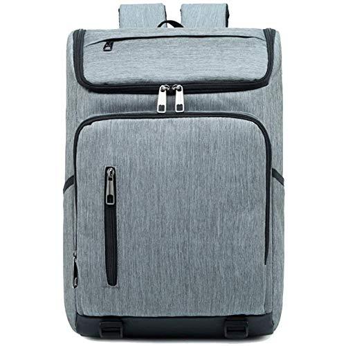 Liangsujiannbb Zaini, Multi-Funzione di Viaggio New Oxford Panno Impermeabile Fashion Business Zaino Adatto for Le Gite/Escursioni a Piedi/Scuole (Colore: Grigio, Size: 46cm * 28cm * 15cm)