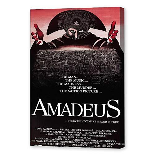 NCCDY Poster de film Amadeus Mozart Musique Poster décoratif sur toile pour salon, chambre à coucher 30 x 45 cm