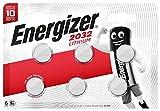 Energizer Paquete de 6 Pilas CR2032de Litio, 3v, baterías.
