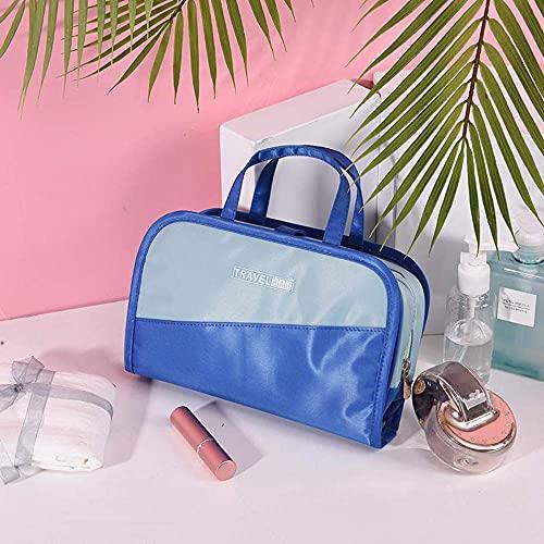 BGSFF Kosmetiktasche Make-up-Tasche Make-up-Organizer-Tasche, Make-up-Taschen, Trav Kosmetik-Taschen Bürstenbeutel Kulturwäsche B Tragbare Reise-Make-up-Tasche für Frauen, abnehmbare 2-i