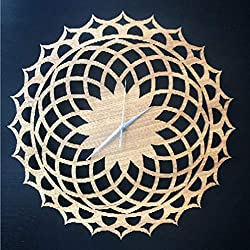 N / A Wall Clocks for Bedrooms Kaleidoscope Wall Clock Modern Silent Wall Clock Large Mute Quartz Wall Clocks DIY Kitchen Living Room Antique Wall Clock for Living Room Bedroom Etc