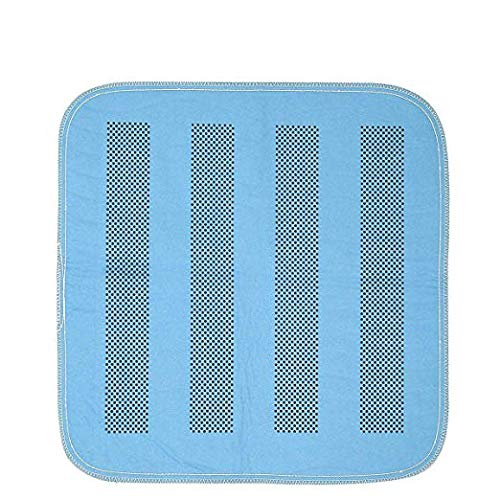 Platinum Care Pads Heavyweight Chair Pad/Underpad Washable with Anti-Slip Backing Size - 17X24 Blue - Great for Sofas, Chairs, Wheelchairs, Changing Tables, Floor Mat and Pets (Pack of 3)