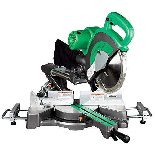 Metabo HPT C10FSBS 10' Sliding Compound Miter Saw, Double-Bevel, Electronic...