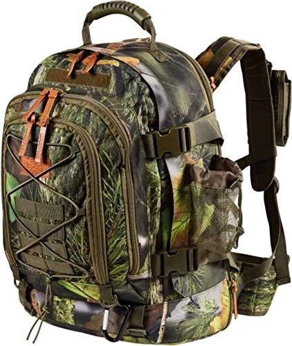 MacGyver Tactical Backpack Sacs de trekking Sacs de randonnée 40 + 20 L (30x51x25cm, 2.6gr) (Camouflage)